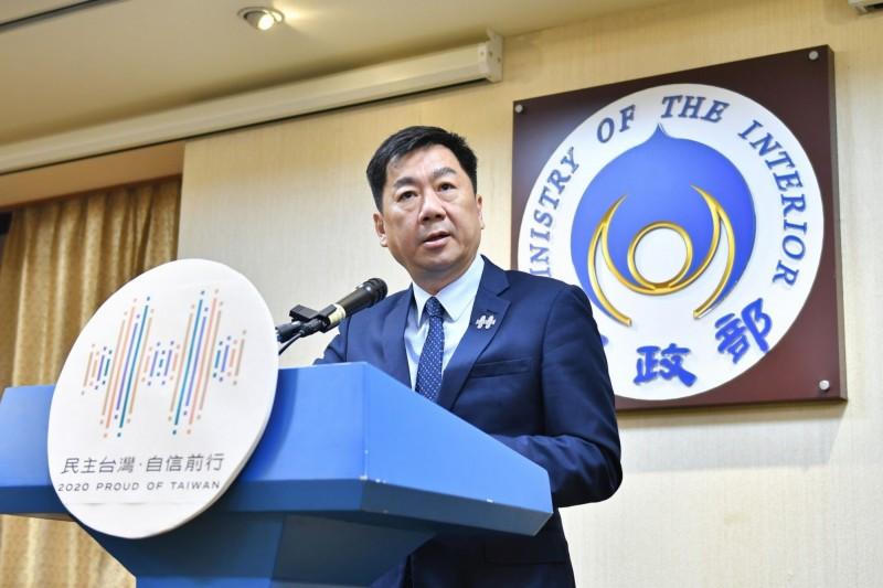 國慶籌備委員會秘書長陳宗彥說明國慶預演情形。(慶籌會提供)