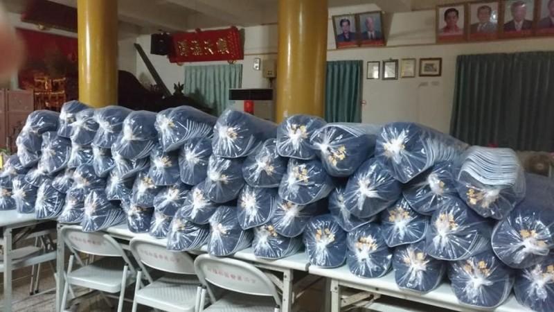 順澤宮表示,短短1年送出16.8萬頂宮廟帽,真的是做夢也想不到。(翻攝順澤宮臉書)