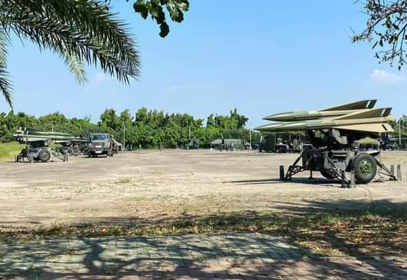 台南將軍馬沙溝在9月21日起確有飛彈連移防演訓,但不是部署應戰。(民眾提供)
