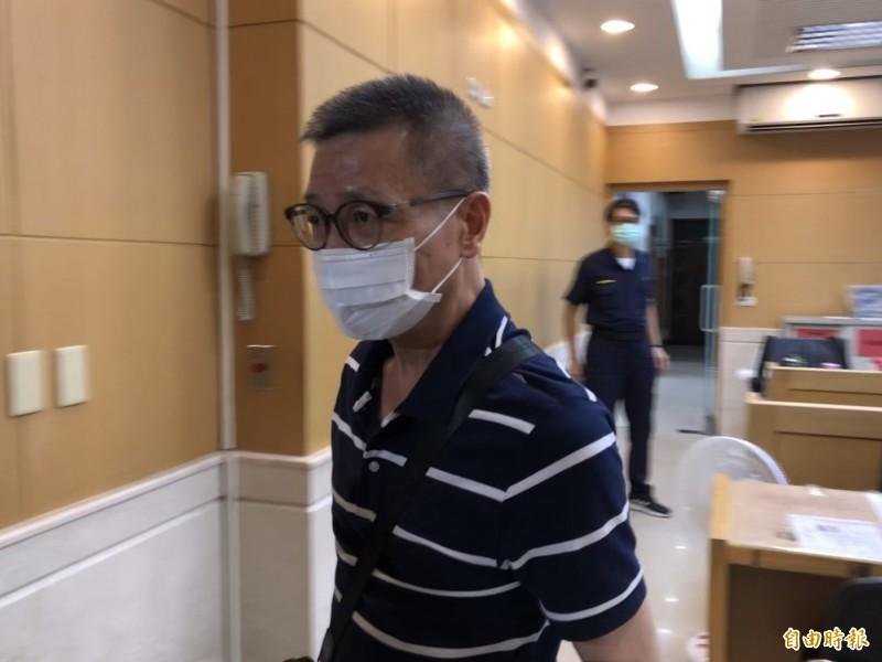 綠興國際有限公司負責人吳旭昇。(記者錢利忠攝)