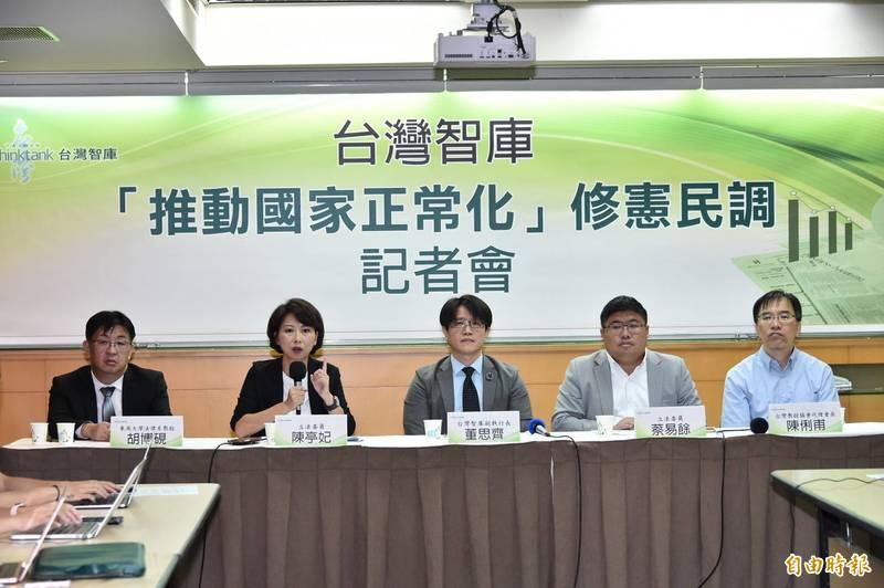 台灣智庫民調︰「中國人」認同僅剩2%