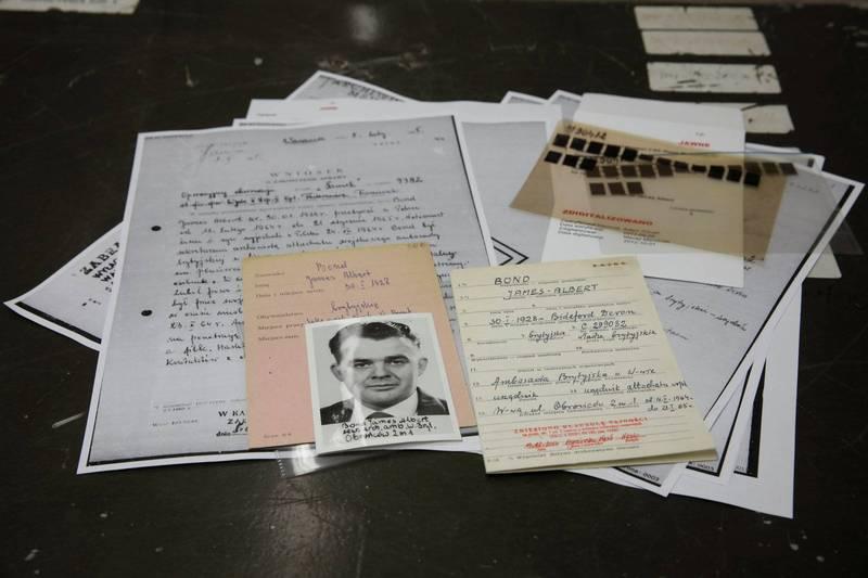 波蘭民族紀念會(Institute of National Remembrance)公布了冷戰時期波蘭情報機構關於詹姆士‧龐德(James Bond)的文件。(路透)