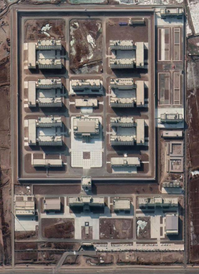 報告指出,這些位在中國西部的監禁設施,曾經用來關押維吾爾人和其他穆斯林少數民族。(圖擷取自ASPI)