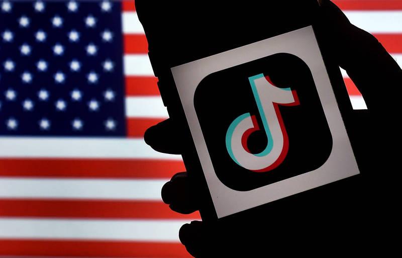 因應TikTok爭議,美國兩黨參議員提出《美國隱私保護法案》。(法新社)