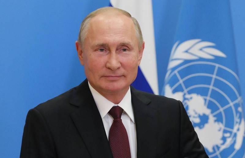 一名俄羅斯作家推薦普廷為2021年諾貝爾和平獎候選人。(法新社)