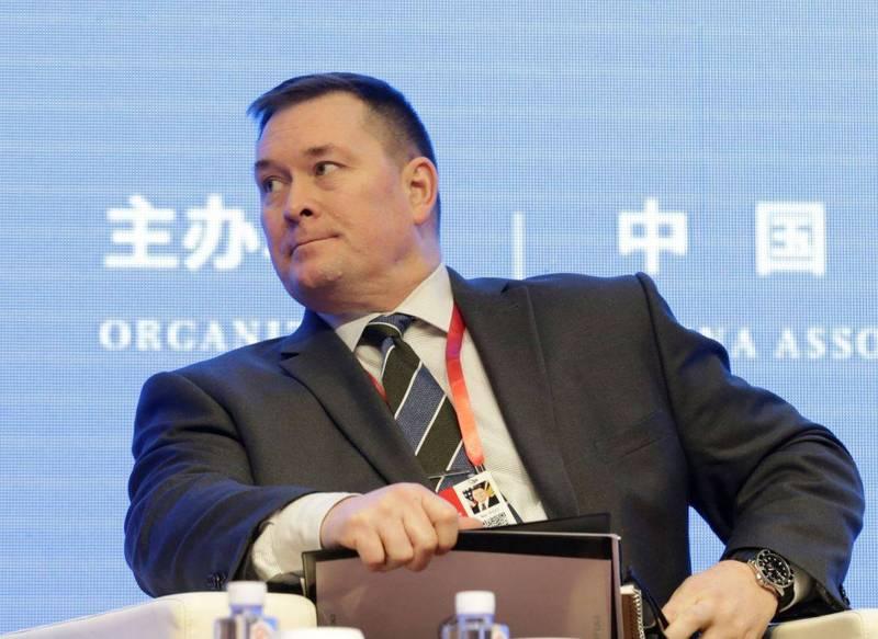 美國國防部中國事務副助理部長施燦德(Chad Sbragia)。(路透資料照)