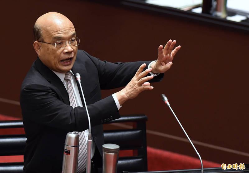 行政院今天下午正式宣布,明年軍公教人員不調薪,這項不調薪的公文已獲行政院長蘇貞昌核定。(資料照)