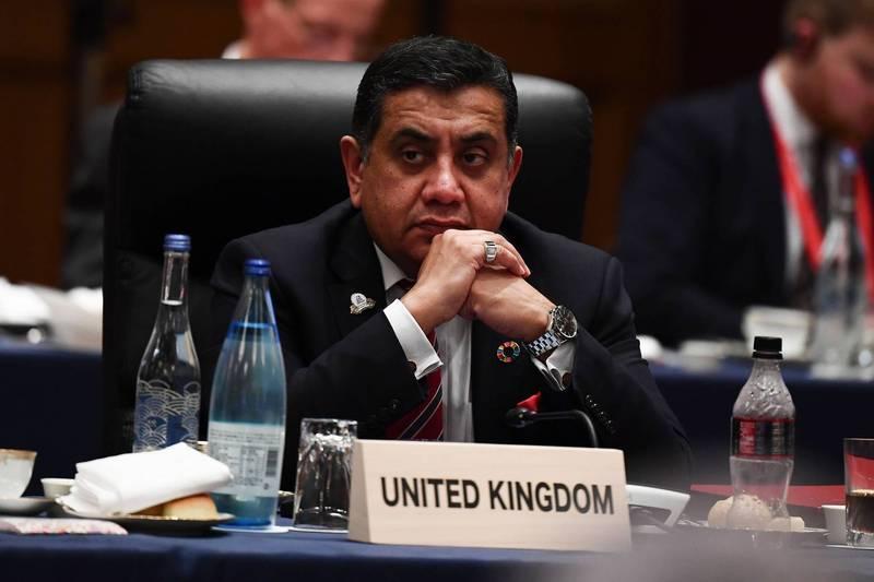 英國外交及聯邦事務大臣艾哈邁德25日在聯合國人權理事會議上批中國打壓人權。(法新社)