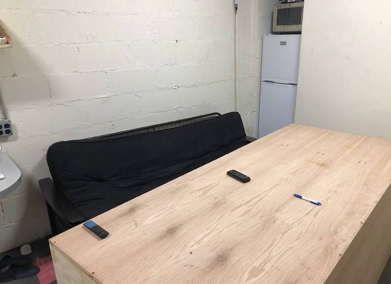 Three subway employees in New York, USA illegally used the underground space of New York Grand Central Station and turned it into an exclusive secret room.  (Associated Press)