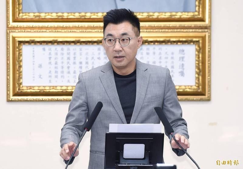 國民黨近期除將針對既有10餘個任務編組織性質的工作委員會,全部由黨主席江啟臣(見圖)重發聘書並下達工作任務,還要繼續成立新的委員會。(資料照)