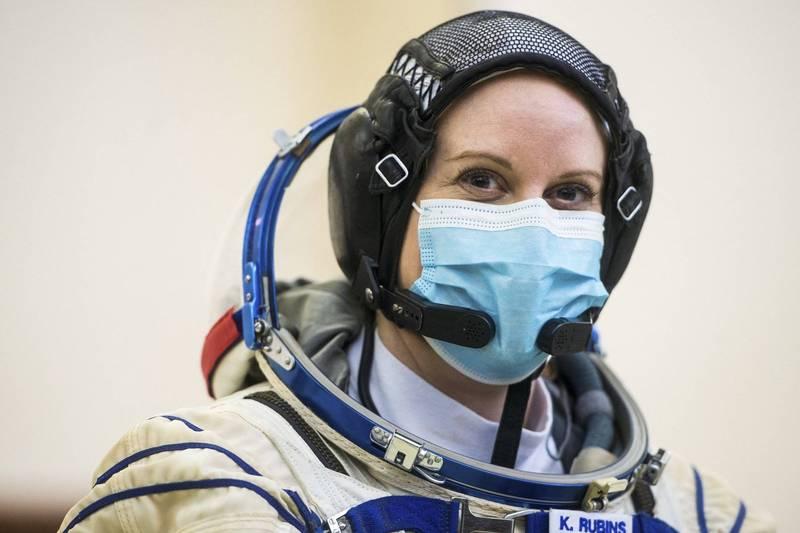 美國女太空人魯賓斯(Kate Rubins),預計將在國際太空站投下總統選票。(美聯社)