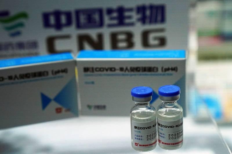中國生物技術股份有限公司(CNBG)等企業研發的武漢肺炎(新型冠狀病毒病,COVID-19)疫苗,依然存在隱憂,卻已緊急提供給中國人民使用。(路透)