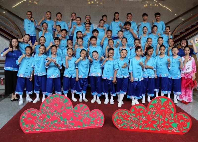 今年台中市國慶日升旗典禮,將邀請西屯永安國小合唱團擔任國歌領唱。(記者蘇金鳳翻攝)