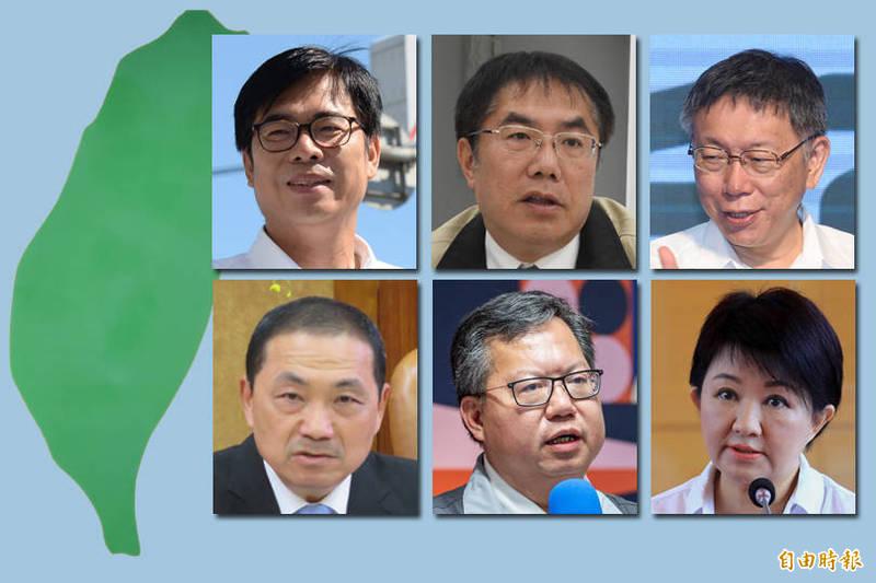六都市長聯合發出聲明,若「市長聯盟」無正面回應與行動,不排除退出該聯盟。(本報合成)