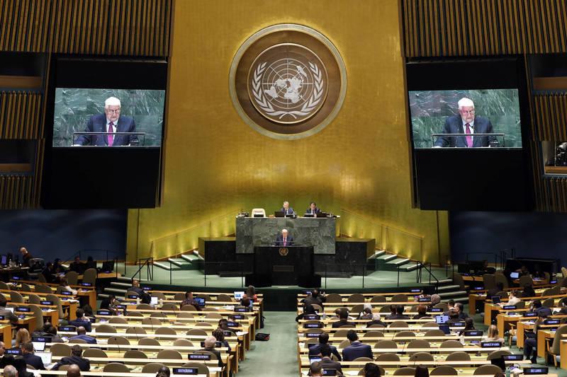 敘利亞外交部長兼副總理穆阿萊姆怒控美國制裁,讓敘利亞人民窒息。(美聯社)