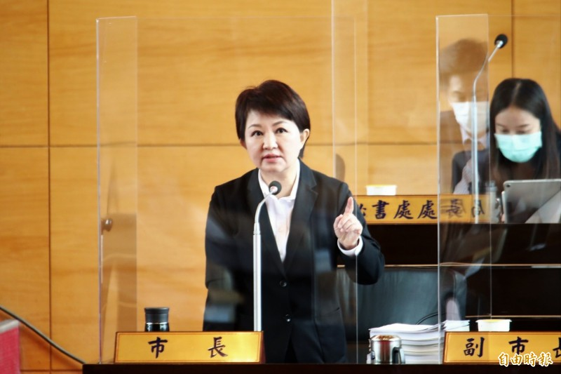 市長盧秀燕表示 從立委時期就反對開放萊克多巴胺的美牛豬進口,立場始終如一。(記者蘇金鳳攝)