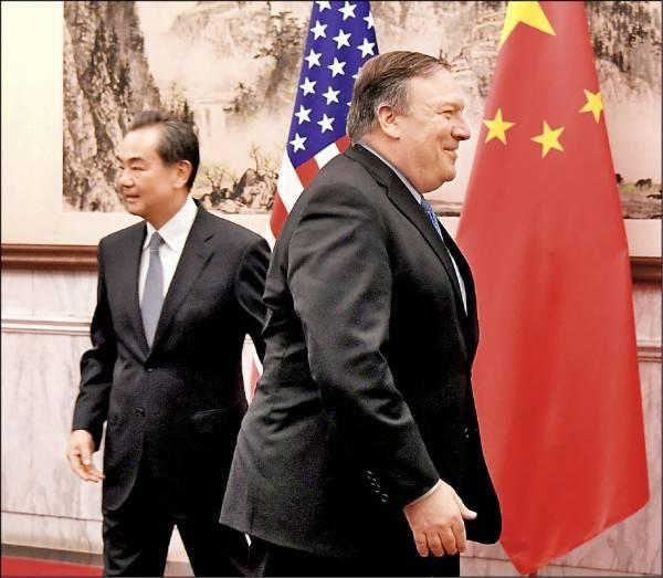 韓媒報導,中國外交部長王毅將在美國國務卿龐皮歐訪韓後也造訪,韓半島成為美中角力戰場。(路透社)