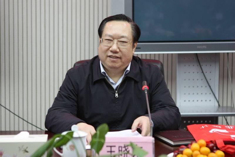 中共湖北省長王曉東盛傳生病住院,被疑落馬。(圖擷自湖北統計局官網)