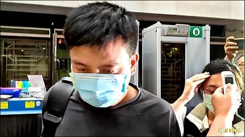 台北市後備指揮部中校李志交涉嫌盜取國家隊口罩被訴,台北地院今裁定羈押。(資料照)