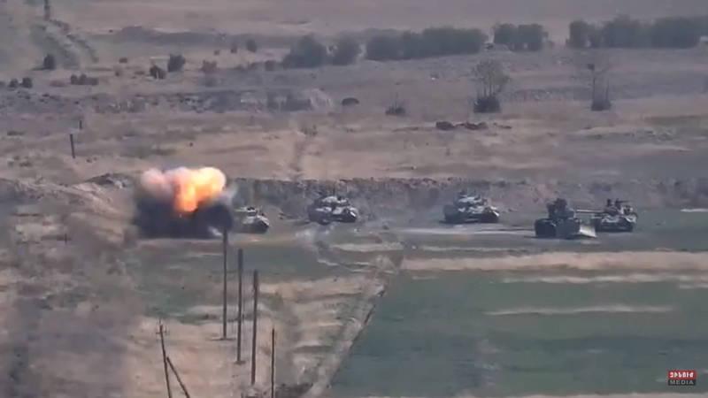 亞美尼亞和亞塞拜然在當地時間27日於兩國爭議地點納戈爾諾-卡拉巴赫爆發武裝衝突。(歐新社)