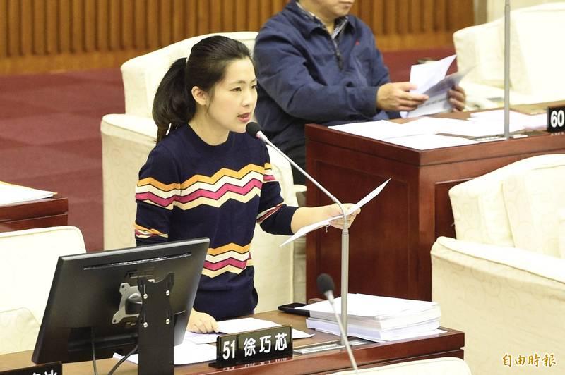 台北市議員徐巧芯今在網路政論節目上拋出恢復全面調回徵兵制議題,強調「女性也應該要當兵」。(資料照)