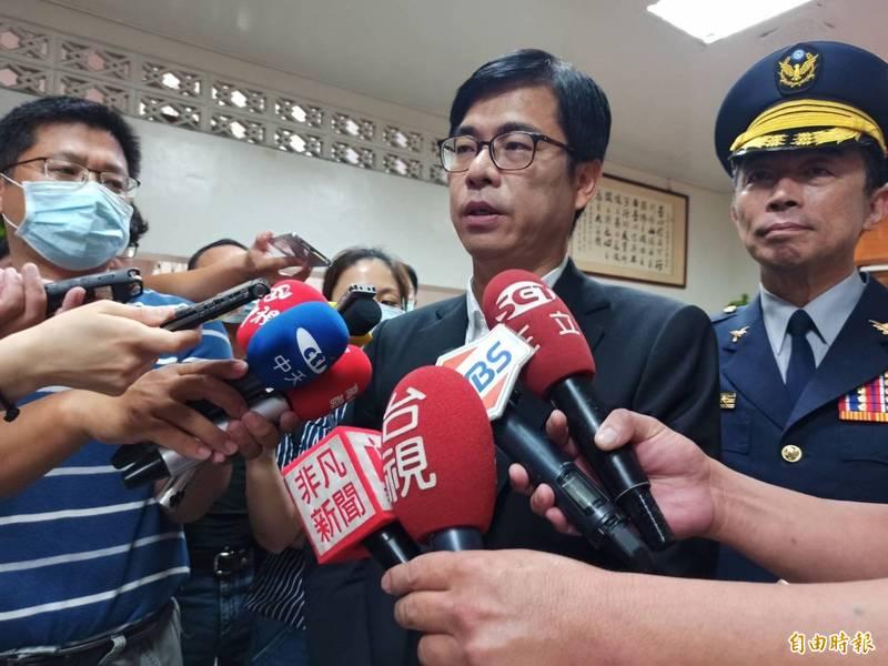 高雄市長陳其邁。(資料照)