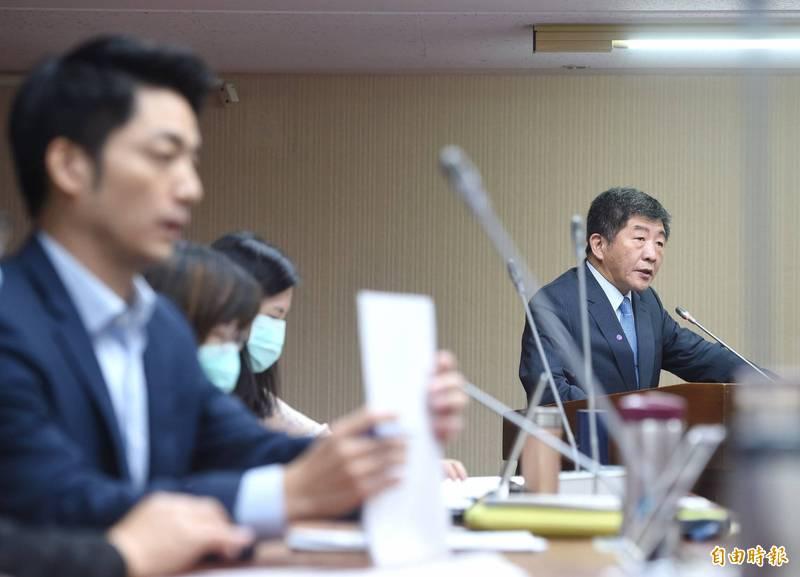 蔣萬安本週安排陳時中到立院衛環委員會備詢。(資料照)