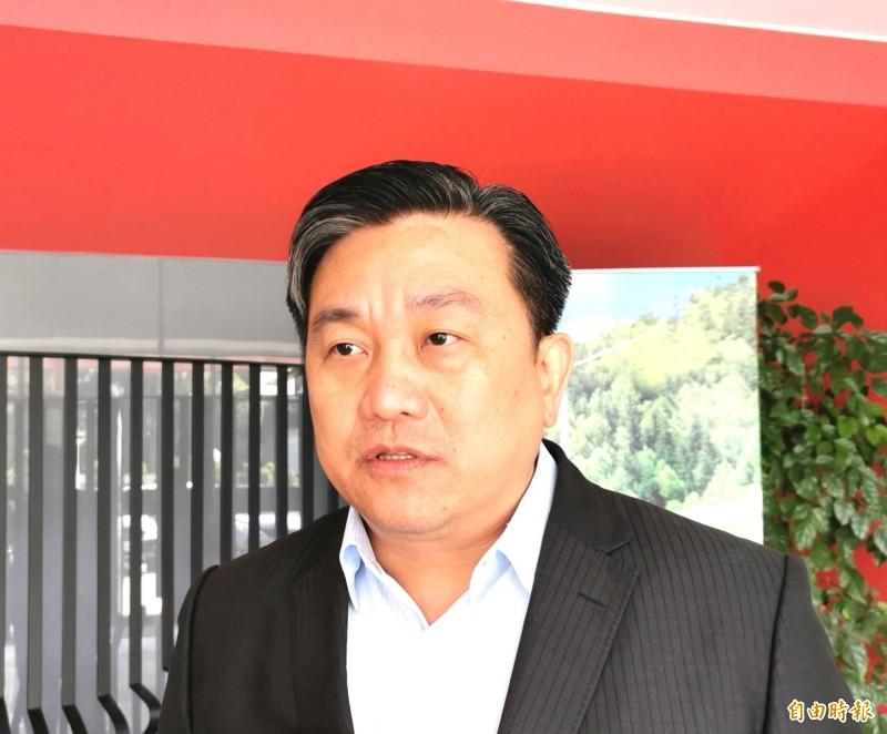民進黨立委王定宇認為台美合作架構的確立,有助於對非邦交國的投資。(記者吳俊鋒攝)