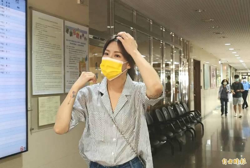 藝人劉雨柔到拳擊館練拳,更衣時發現遭偷拍,嚇得報警提告。另有1名OL也向陳男提告,檢方今再次追加起訴陳男。(資料照)