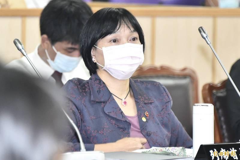 促轉會主委楊翠今表示,司法院大法官釋憲檔案,預定11月進行移交給檔案局。(記者塗建榮攝)