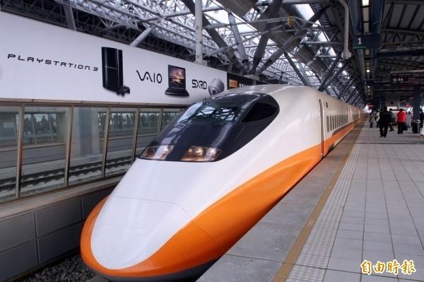 中秋連假首日,高鐵上午及中午自南港站加開2班南下全車自由座列車。(資料照)