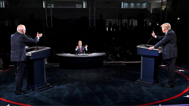 美總統大選辯論 川普拜登互批對中軟弱