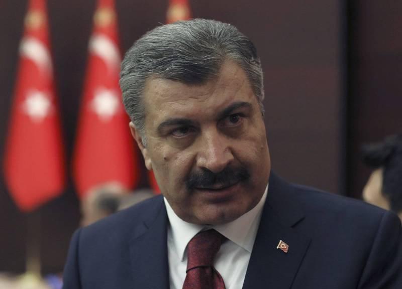 土耳其衛生部長科卡昨天承認,自7月29日以來,官方所公布的感染人數並不包含無症狀的陽性病例,他們僅列出每日來到醫院的確診病例,引起民眾強烈抗議。(美聯社)