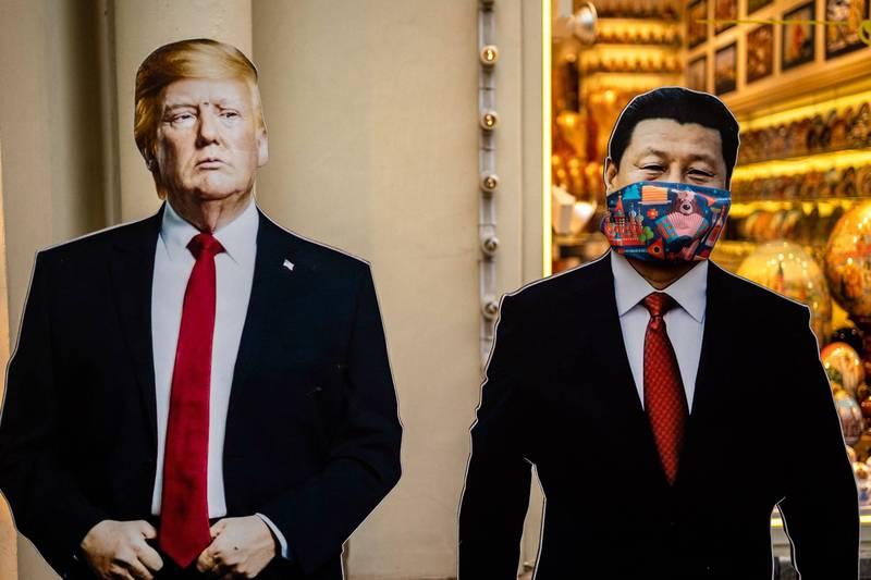 吳嘉隆認為,川普確診事件可能會改變他的中國政策,或許會更為強硬的對中國出手。(法新社檔案照)