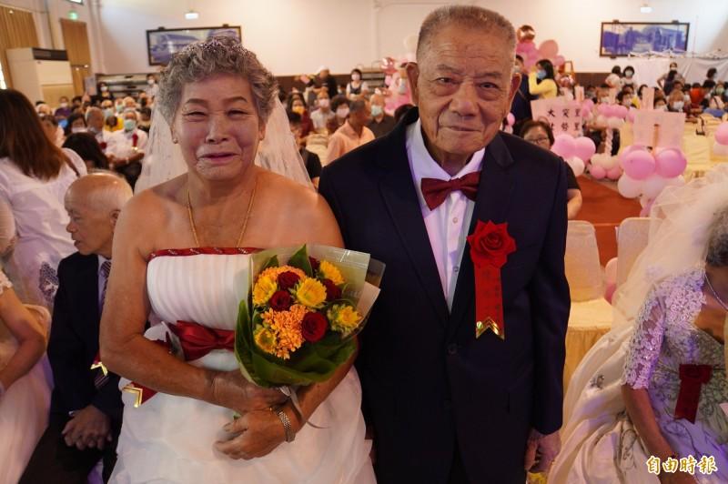 陳添丁結婚後13天 就入伍當兵。(記者顏宏駿攝)