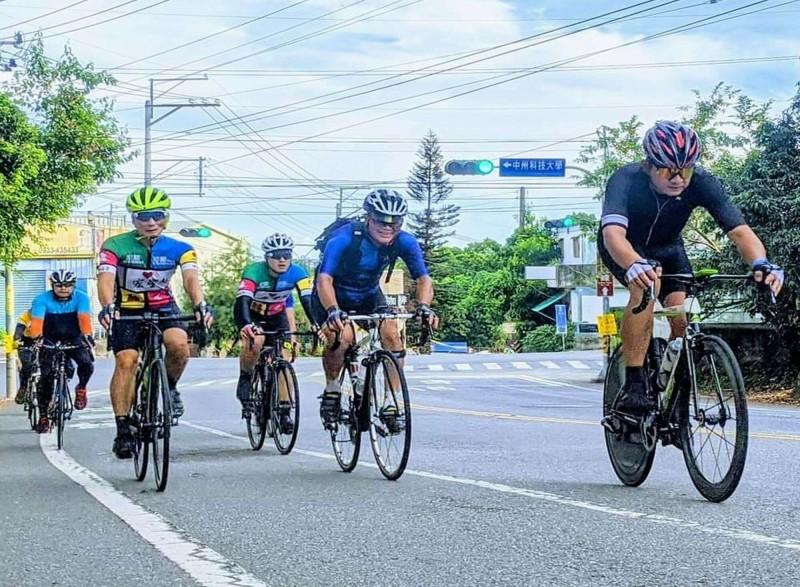 彰化市八卦山139線是自行車族的熱門路線。(車友提供)