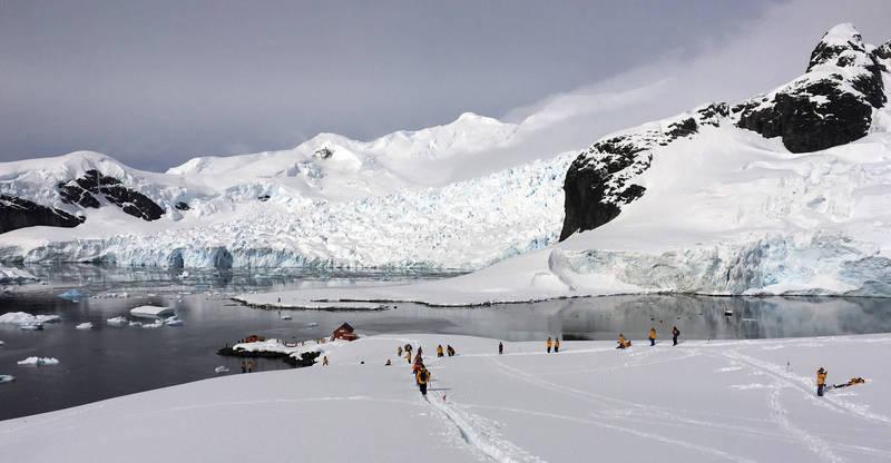 根據研究顯示,南極半島今年的平均溫度是過去30年以來最高。(美聯社資料照)