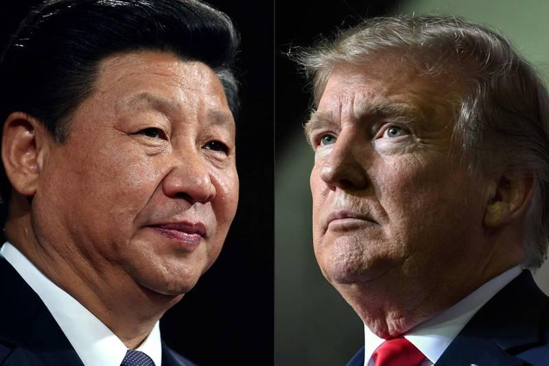 美媒《CNN》分析,中國官方似乎刻意要媒體低調報導川普染疫的相關討論,「顯然對於事件發展感到緊張」。(法新社)