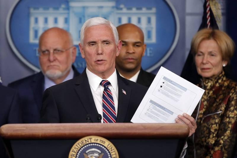 美國副總統彭斯表示,將會如期參加副總統辯論。(美聯檔案照)