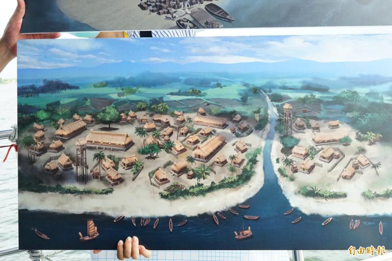 《台灣三部曲》將於大鵬灣打造6大主場景。(記者陳彥廷攝)