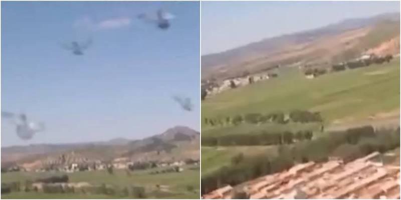 中國解放軍釋出南部戰區1架戰機被鳥擊失事的影片,引發中國網友討論。(圖取自新華每日電訊抖音)