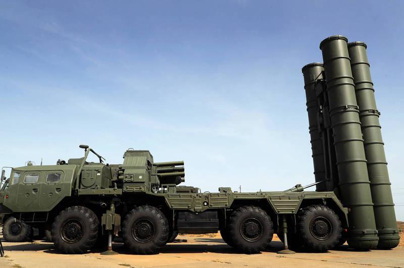 土耳其10月5日至16日期間,會在北臨黑海的錫諾普周邊訓練場展開俄製S-400防空系統測試以及啟用程序,圖為俄國S-400防空系統。(歐新社)