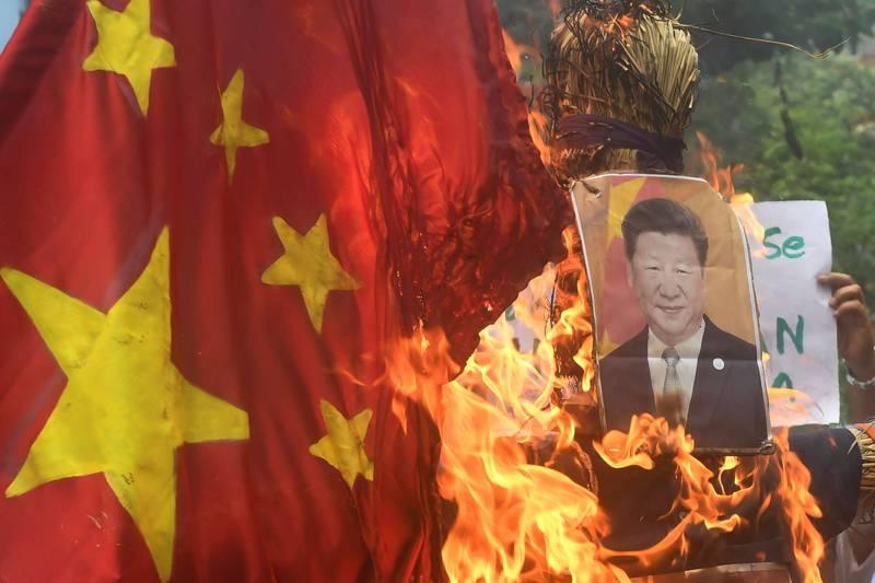 全球14個國家對中國的負面觀感程度過半數,甚至高達86%。(法新社檔案照)