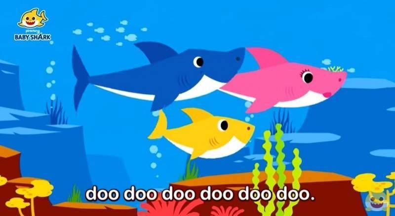 兒歌《Baby Shark》因為朗朗上口的歌詞及輕快的旋律,相當洗腦,除了被翻唱多國語言,更是創下數10億的觀看次數。(擷取自YouTube)