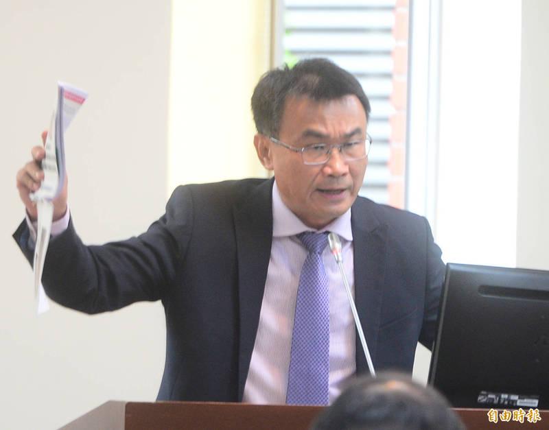 立法院經濟委員會,邀請農委會主委陳吉仲做專題報告並備詢。(記者王藝菘攝)