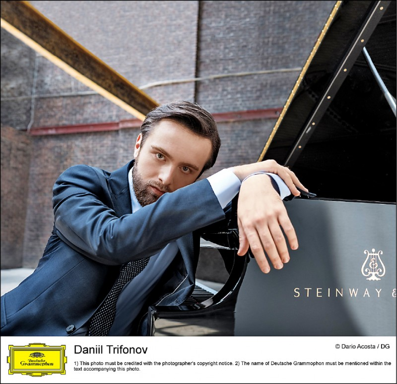 俄國鋼琴天才Daniil Trifonov。(牛耳藝術提供)