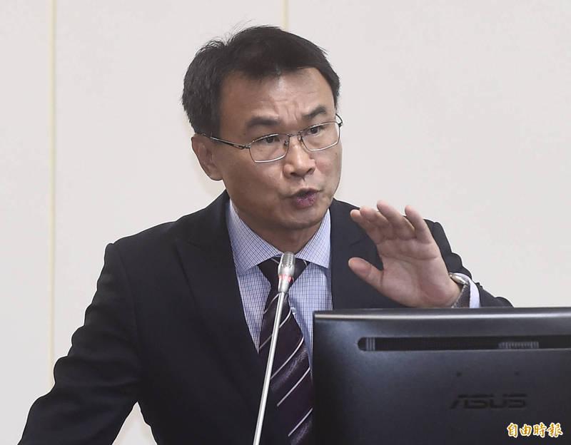 立法院經濟委員會8日邀請農委會主委陳吉仲報告並備詢。(記者簡榮豐攝)