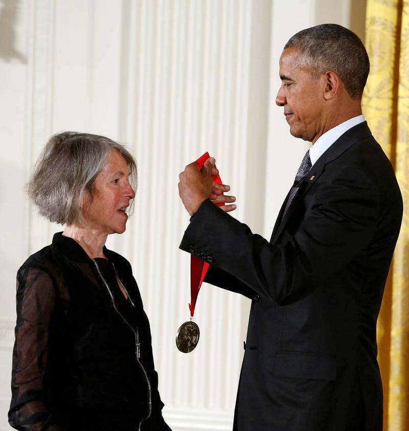 2016年,葛綠珂獲時任總統歐巴馬頒發2015年美國國家人文獎章(National Humanities Medal)。(路透)