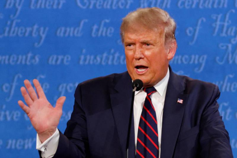 澳洲學者認為,若川普連任風險繼續增加、前景看壞,不排除他可能在外交上承認台灣。(路透檔案照)
