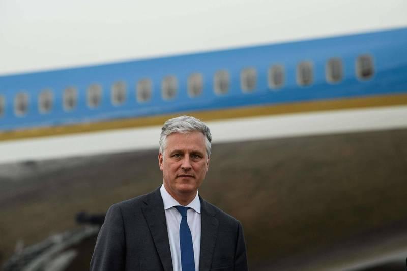 白宮國家安全顧問歐布萊恩(Robert O'Brien)7日警告中國不要企圖以武力奪回台灣。(法新社資料照)